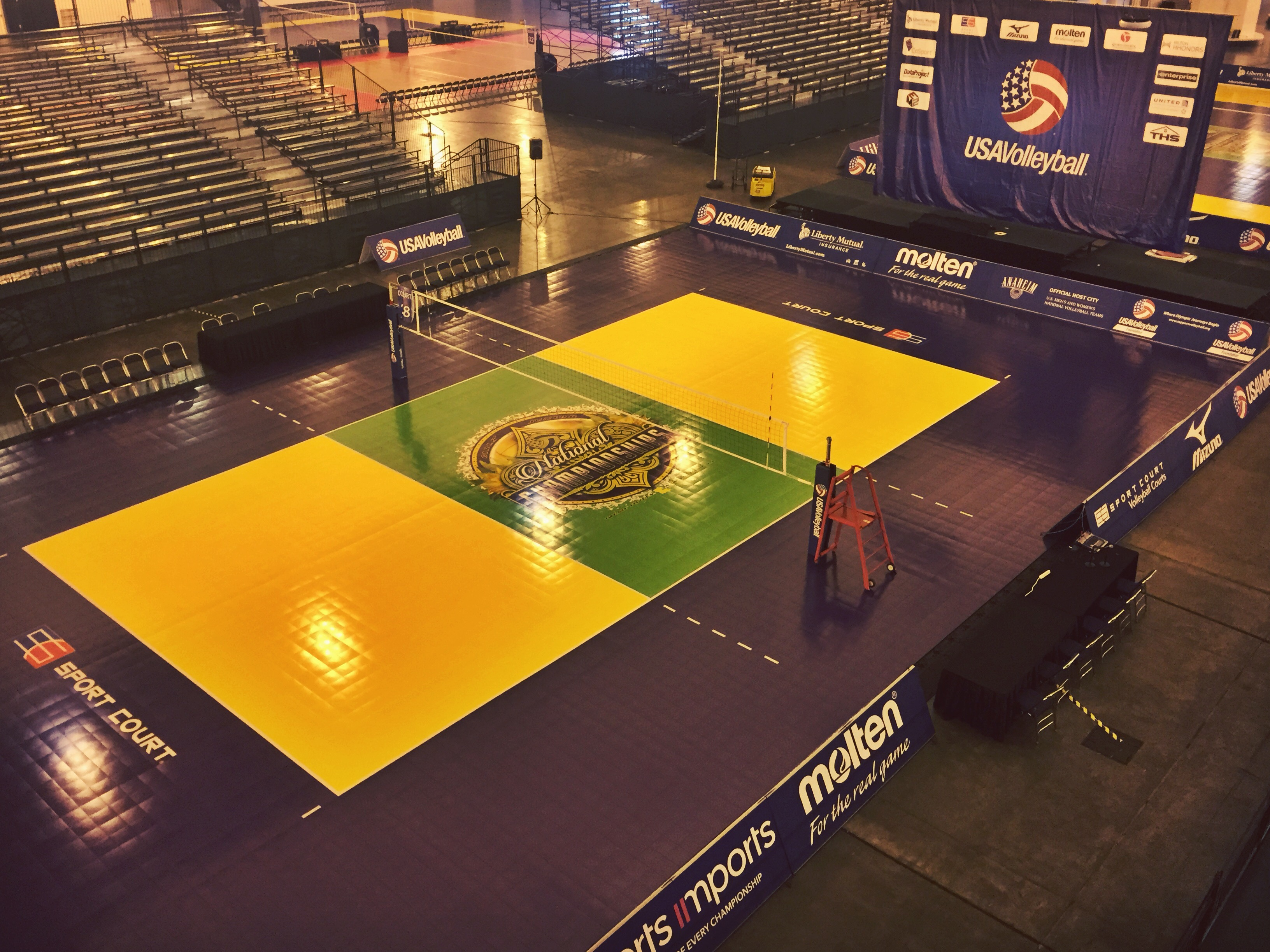 USA Volleyball Girls' And Boys' Junior 2015 Nationals To Set Participation Records On Sport Court® Surfaces